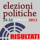 risultati politiche 2013